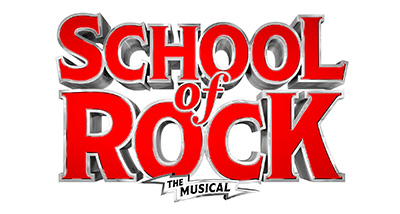 text saying school of rock