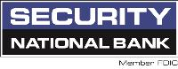 image says security on top, national bank below that - company logo