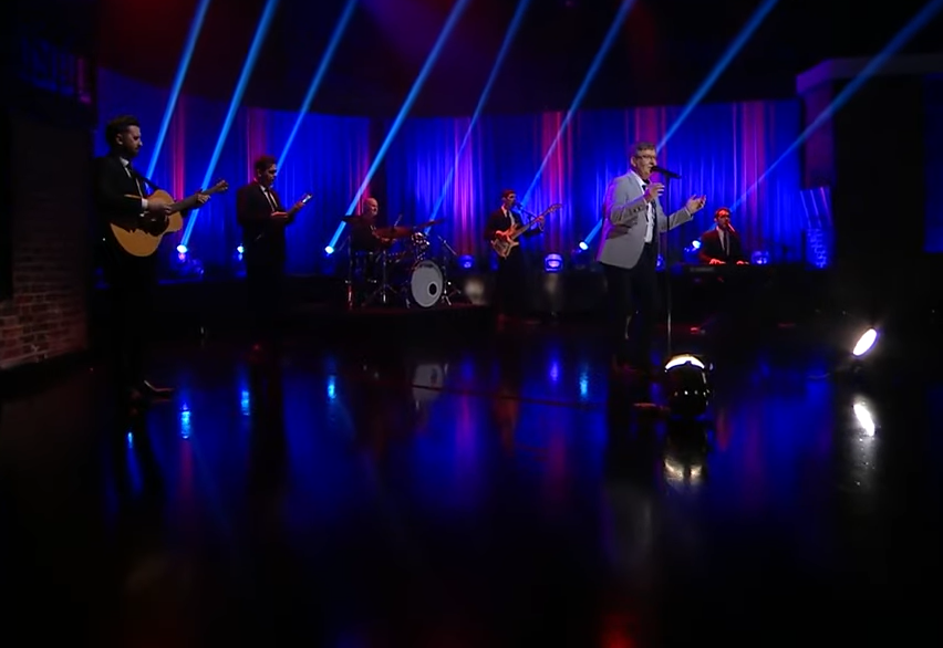 Daniel O'Donnell performs
