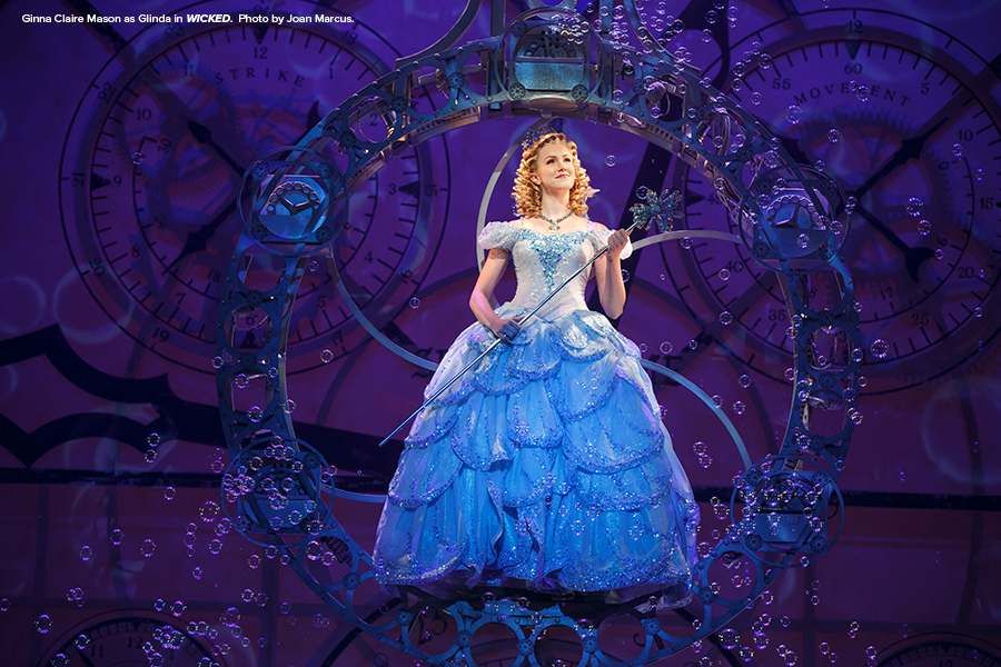 Ginna-Claire-Mason-as-Glinda-in-WICKED-(Photo-by-Joan-Marcus)