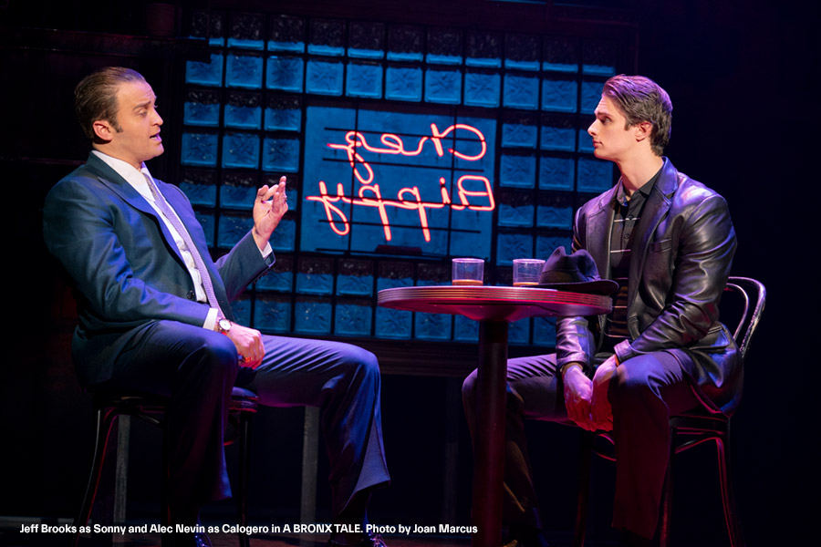 h.-Jeff-Brooks-as-Sonny-and-Alec-Nevin-as-Calogero-in-A-BRONX-TALE.-Photo-by-Joan-Marcus