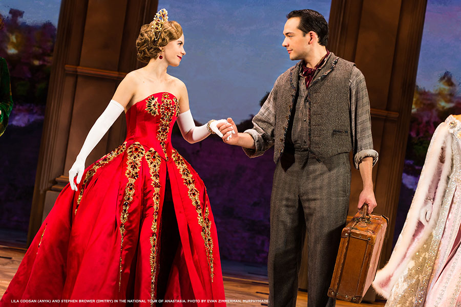 Lila-Coogan-(Anya)-and-Stephen-Brower-(Dmitry)-in-the-National-Tour-of-ANASTASIA.-Photo-by-Evan-Zimmerman,-MurphyMade.