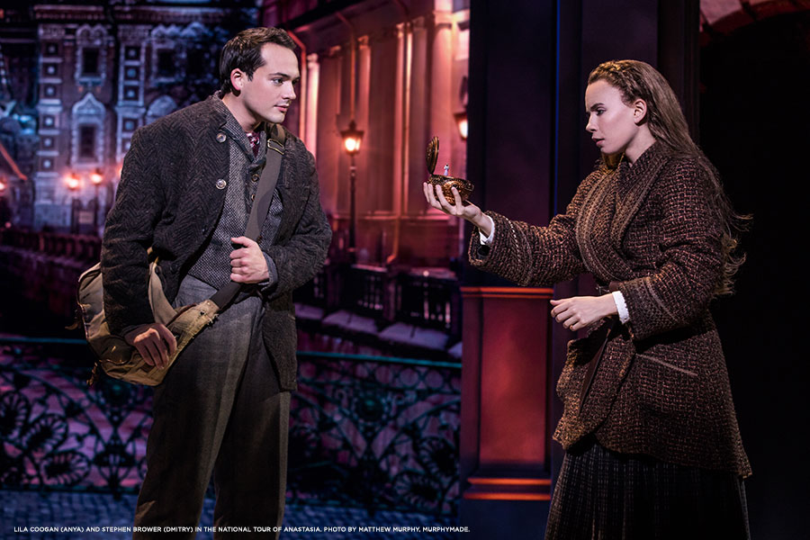 Lila-Coogan-(Anya)-and-Stephen-Brower-(Dmitry)-in-the-National-Tour-of-ANASTASIA.-Photo-by-Matthew-Murphy,-MurphyMade.