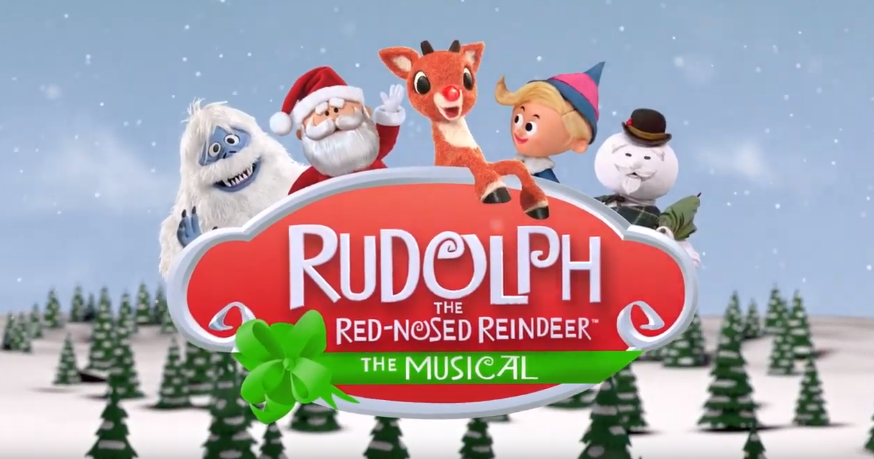 characters from rudolph on stage