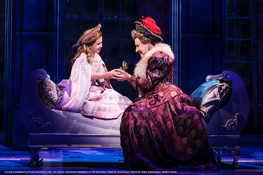 Victoria-Bingham-(Little-Anastasia)-and-Joy-Franz-(Dowager-Empress)-in-the-National-Tour-of-ANASTASIA.-Photo-by-Evan-Zimmerman,-MurphyMade.